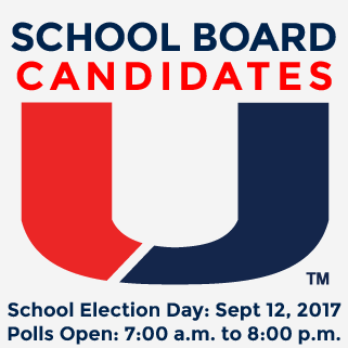 School Board Election Day Sept 12