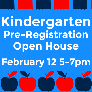 Kindergarten Pre Registration Open House 2019 20