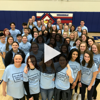 UHS Hope In Action End Human Trafficking news