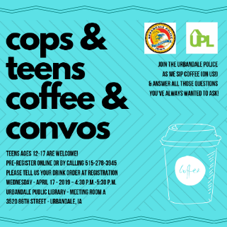 Cops and Teens Coffee and Convos