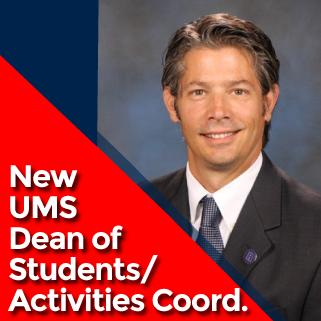 Announcing New UMS Dean of Students