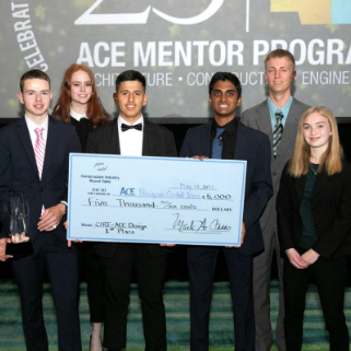 First Place ACE Mentor Program of Central Iowa May 2019 news