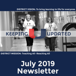 KeepingUUpdated July 2019 news