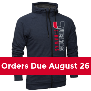 Fall Apparel Orders Due Aug 26